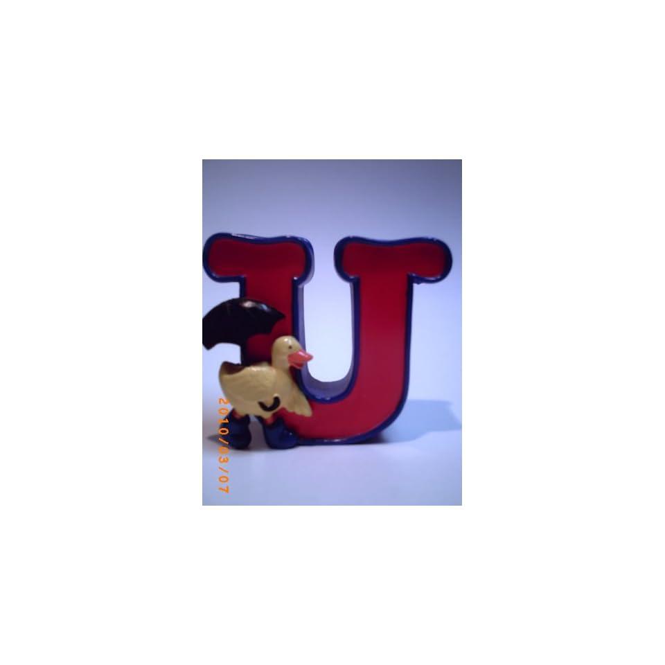 Letter U  Alphabet Zoo By Figi Baby