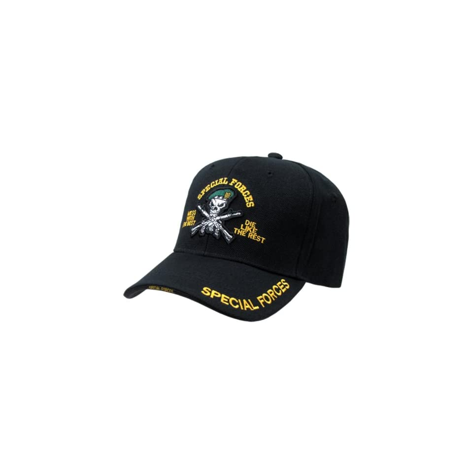 Embroidered Military Baseball Caps Special Forces_GB