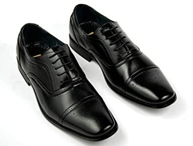Amazon.com: Delli Aldo Fashion Oxfords Mens Dress Shoes Cap Toe: Shoes