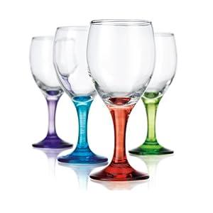carnival 10 oz white wine glass set of 4