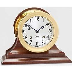 Chelsea Ship's Bell: 6 Clock w/ Hinged Bezel