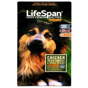 PetGuard Life Span Chicken Flavor Dry Dog Food, 8-Pounds (Petguard Dry Cat Food compare prices)