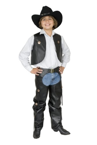 CHILD COWBOY Chaps and Vest (Hat not included)