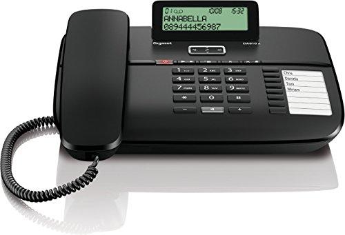 Gigaset da810a t l phones filaire avec r pondeur ecran - Telephone filaire avec repondeur integre ...