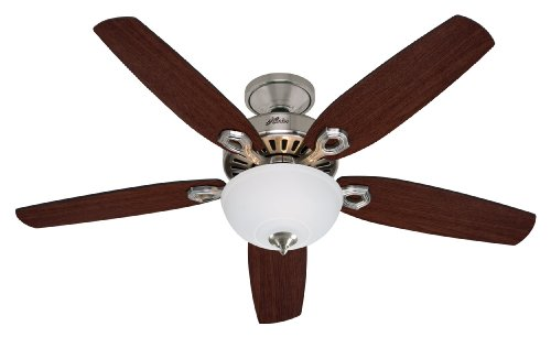 Review: Hunter Builder Deluxe 5 Blade Ceiling Fan - First Rate Fans