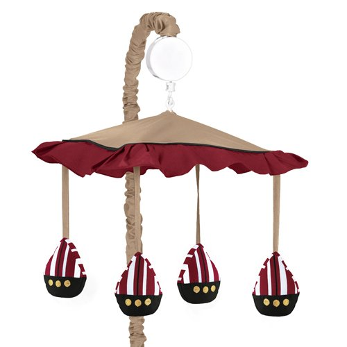 Pirate Baby Mobile Baby Crib Mobile by Sweet