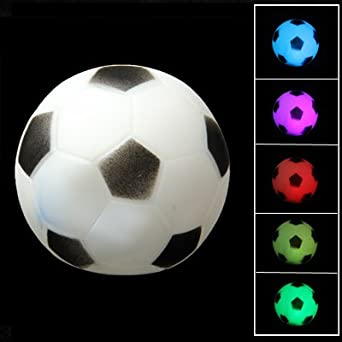 led fussball lampe ball lampe modlight mit led. Black Bedroom Furniture Sets. Home Design Ideas