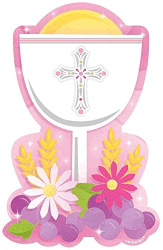 CO VAL PK 1ST COMMUNION PINK