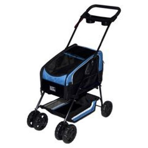 Pet Gear, Inc. Travel System ll Pet Stroller for Cats and Dogs, Blue