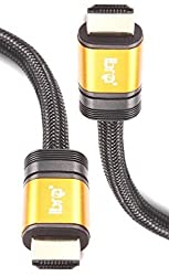 HIGH SPEED PRO GOLD Ibra Range (1.4a Version 3D) HDMI TO HDMI CABLE WITH ETHERNET COMPATIBLE WITH 1.3c 1.3b 1.3 1080P PS3 SKYHD VIRGIN BOX FULL HD LCD PLASMA & LED TV's AND ALSO SUPPORTS 3D TVS. (2metre/ 6.4feet)