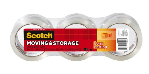 Scotch Moving and Storage Tape, 1.88 x 38.2 yards,