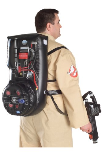 Ghostbusters Costume With Inflatable Backpack