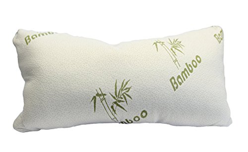 Shredded Memory Foam Pillow - King - Original Bamboo - Neck, Back and Body Pain Relief - Hotel Luxury Sleep - Contour Side Sleeper Design with Deluxe Hypoallergenic Washable Cover - #1 in USA - Great for Maternity, Yoga, or Travel - Superior to Down - King - Lifetime Money Back Guarantee KING