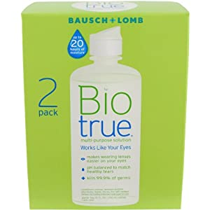 Biotrue Multi-Purpose Solution, 10 oz Twin Pack