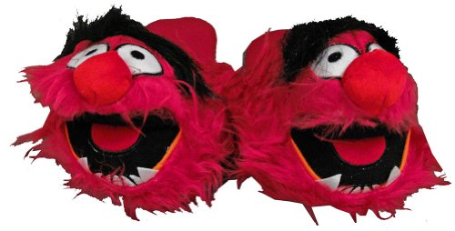 Cheap The Muppets Animal Fuzzy Face Cartoon Adult Plush Mens Slippers (ECMP7018)