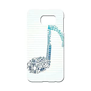 BLUEDIO Designer 3D Printed Back case cover for Samsung Galaxy S7 - G3882