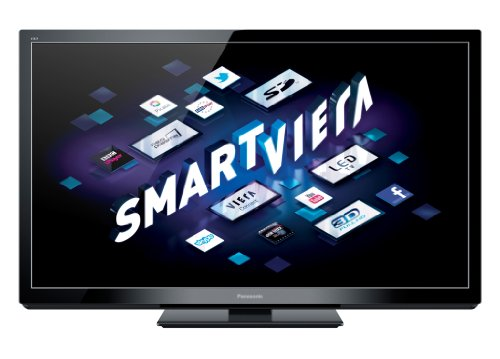 Panasonic Smart VIERA TX-P50GT30B 50-inch Full HD 1080p 3D 600Hz Internet-Ready Plasma TV with Freeview HD and Freesat HD (Installation Recommended)