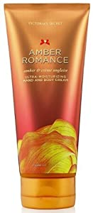 Victoria's Secret Amber Romance Ultra Moisturizing Hand and Body Cream (New Look)6.7 Fl Oz, 200 Ml
