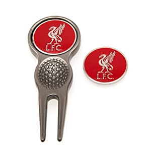 Liverpool FC Golf Divot Tool and Marker Liverbird by Liverpool F.C.