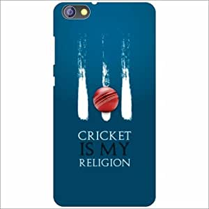 Huawei Honor 4X Back Cover - Silicon Cricket Is My Religion Designer Cases
