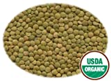 5 LBS Organic Green Lentil Beans