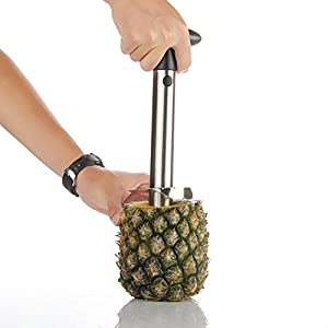 HOAEY Stainless Steel Pineapple Corer Slicer Peeler Cutter - Kitchen Tool Accessories