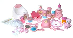 You & Me: Baby Care Set - You & Me: Baby Doll Care Set - Accessories in Bag