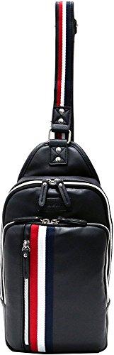 (マルカワジーンズパワージーンズバリュー) Marukawa JEANS POWER JEANS VALUE ショルダーバッグ メンズ ボディバッグ バッグ カバン 鞄 斜め掛け カジュアル レディース ユニセックス 2color Free ブラック