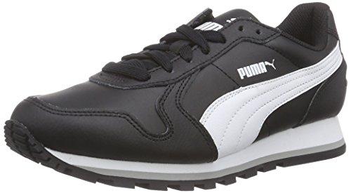 Puma - St Runner Full L, Sneakers, unisex, Nero (Schwarz (black-white 01)), 44