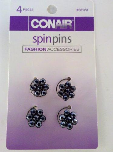 Conair Spin Pins Fashion Accessories, 4 Pieces
