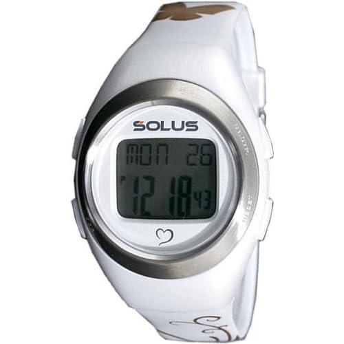 [ソーラス] SOLUS 腕時計 デジタル 心拍計測機能付 トレーニングウォッチ ホワイト ユニセックス [国内正規品]