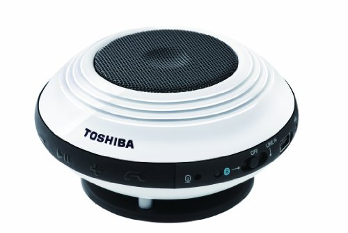 Toshiba Bluetooth Wireless Portable Speaker For Smartphones Tablets And Laptops - 8 Hr Battery - Tysp1
