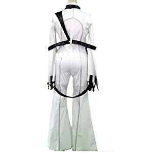 C.C. White Tight Costume for Geass Cosplay in Small