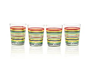 Fiesta Stripe Glasses