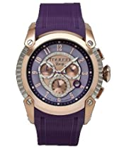 Mulco MW1-21160-055 Deep Scale Collection purple chronograph watch