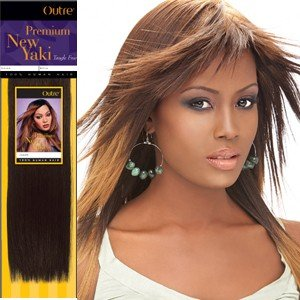 Outre-Premium-Human-Hair-New-Yaki-Weaving-Hair-Extension