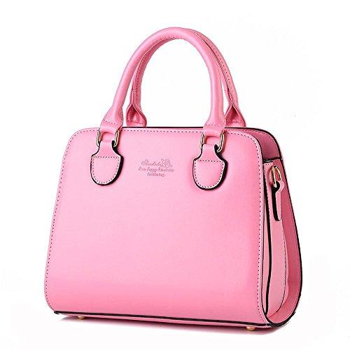 Koson-Man-Borsa Vintage da donna, borsetta per impugnatura, rosa (Rosa) - KMUKHB255