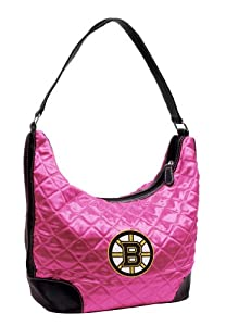NHL Boston Bruins Pink Quilted Hobo