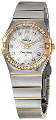 Omega Women's 123.25.27.60.55.002 Constellation Diamond Bezel Watch