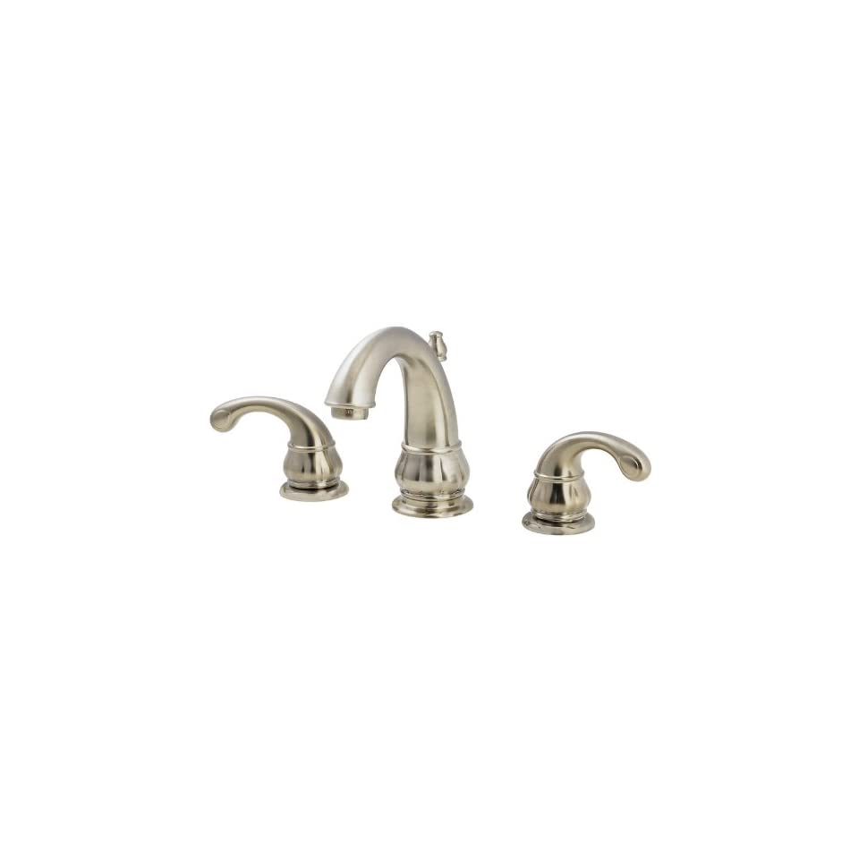 Price Pfister T49 DK00 Treviso Lavatory 8 15 Lavatory Faucet with Lever Handles, All Metal Pop Up.