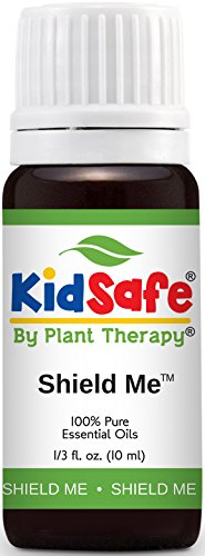 KidSafe Shield Me (formerly Ban the Bugs) Synergy Essential Oil Blend. 10 ml (1/3 oz). 100% Pure, Undiluted, Therapeutic Grade. (Blend of: Citronella, Grapefruit, Geranium Bourbon, Rosalina and Patchouli.)