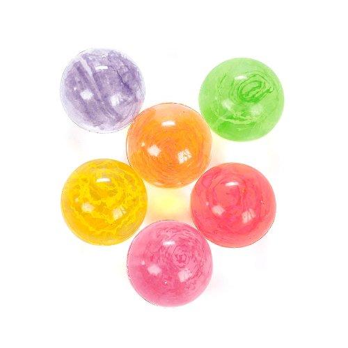 Neon Confetti Bouncy Balls (1 dz)