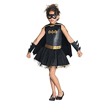 LE-super Halloween Xmas Cosplay Child's Costume League Child's Batgirl Tutu Dress