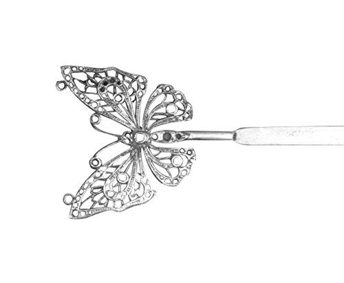 100 fait main accessoire cheveux vintage bijoux originaux barrette argent 101 bijouterie. Black Bedroom Furniture Sets. Home Design Ideas