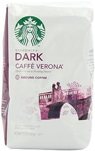 Starbucks Caffe Verona Coffee, Dark, Ground, 12 Ounce