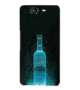 EPICCASE Amazing Belvedere Vodka Mobile Back Case Cover For Micromax Canvas Knight A350 (Designer Case)