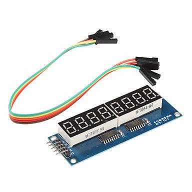 Zcl 8 X Seven-Segment Displays Module For Arduino (595 Driver)