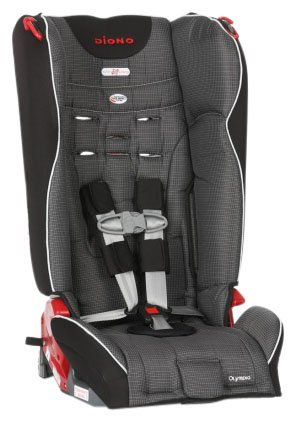 Diono Olympia Convertible+Booster Car Seat - Shadow, Size One Size front-703872