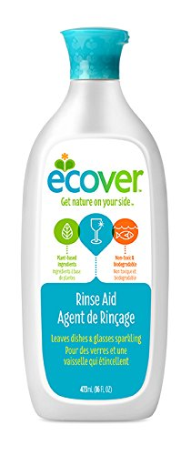Ecover Natural Plant-based Rinse Aid for Dishwashers, 16 ounce (Dishwasher Aid compare prices)