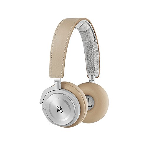 B&O PLAY by Bang & Olufsen Beoplay H8 Wireless On-Ear Headphone with Active Noise Cancelling, Bluetooth 4.2 (Natural)